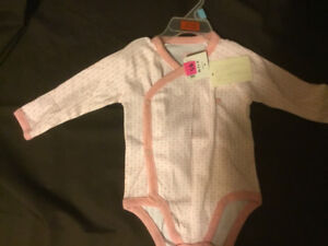 Long Sleeved Pink Onsie. BRAND NEW with TAGS