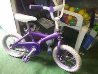 "bike / vélo DISNEY 14"" used / utilisé"