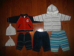 boy 0-6m clothes -- GAP