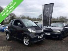 2009 09 SMART FORTWO 0.8 CDI PASSION FULL AUTO 45 BHP DIESEL