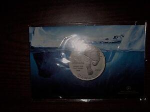 Excellent Christmas Gift - 2012 $20 Polar Bear Silver Coin
