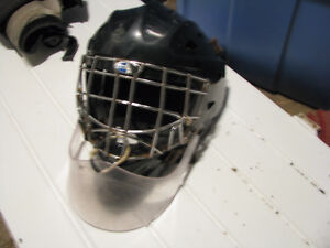 Full goalie gear for sale, used by a 5'9'' tender
