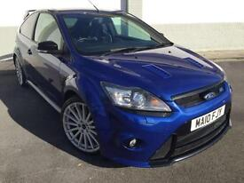 2010 10 Ford Focus 2.5 ( 305ps ). RS 3 DOOR IN BLUE LUX PACK 2