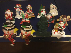 Assorted Christmas stocking holders Edmonton Edmonton Area image 1