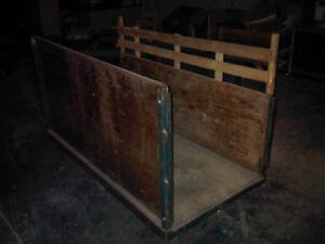 Heavy Duty Industrial Panel Trucks - 4 Available
