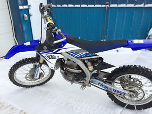 2014 yz 450 20 hours- trade for ecnomical car