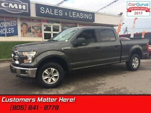 2015 Ford F-150 XLT  CREW, 4X4, 5.0L, ALLOYS, POWER GROUP, NEW-T