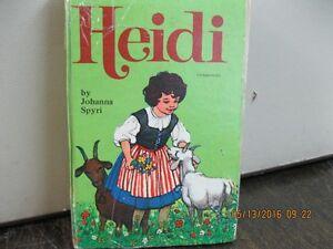 HEIDI   HARDCOVER   CHILDRE'S  BOOK