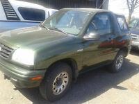 2001 Suzuki Vitara 4X4 Cabriolet 88000 ki aucune rouille A-1