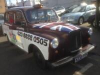 CARBODIES LTI TAXI LONDON BLACK CAB FAIRWAY DRIVER 2.7 TD NISSAN DIESEL AUTO FX4