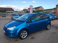2007(57) Ford C-MAX 1.8 16v Zetec Met Blue, 5dr MPV, **ANY PX WELCOME**