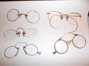 """ASSORTED Antique-Vintage eye glasses """"Pince Nez"""" Belleville Belleville Area image 1"""