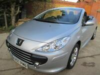 Peugeot 307 CC 2.0 16v 140bhp Coupe auto S FSH Stunning Inside & Out
