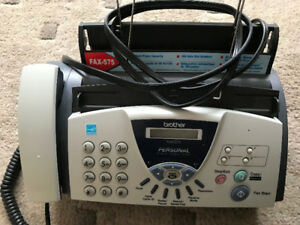 Brother Phone/Fax Answering Machine