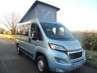 2017 brand new.Peugeot BOXER FULL POP-TOP CAMPER CONVERSION BLUE HDI