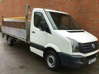 17 VW crafter Dropside tail lift Euro 6