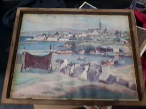 LOOKING FOR INFO ON A WATERCOLOR