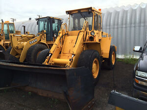 VOLVO 4300B LOADER FOR SALE W/BUCKET & SNOW PUSHER