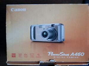 Canon PowerShot A460 Digital Camera