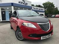 2012 Chrysler YPSILON BLACK AND RED Manual Hatchback
