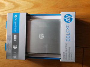 Brand new hp 1 tb usb 3.0 2.5 inch harddrive