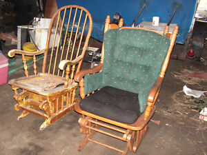 glider ,rocker mom and baby chair