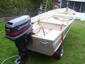 14ft Sterling Aluminum boat and motor