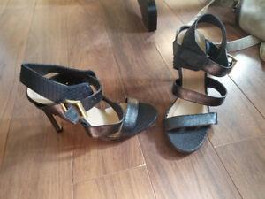 Sandal à talon haut