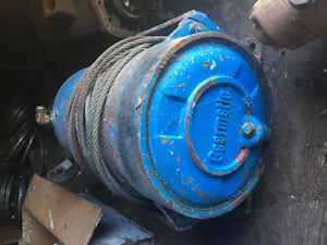 GearMatic winch x 2