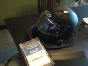 Womans Helmet and Speaker System