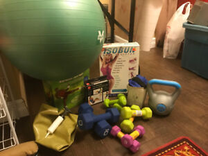 NEW LIKE CONDITION fitness equipment  OBO