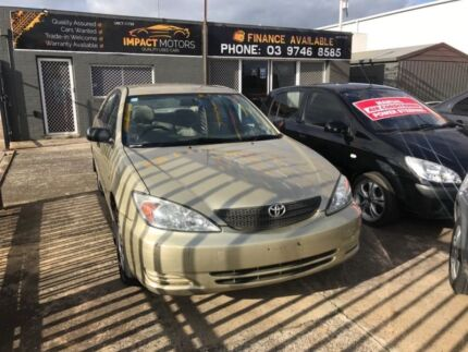 2003 toyota low kms drive like new save $$ with rego rwc lot more Melton Melton Area Preview