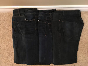 4 Pairs of Men's Bluenotes Jeans