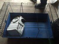 Indoor rabbit cage
