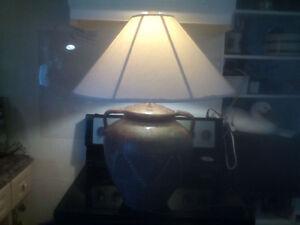 3 table lamps your choice