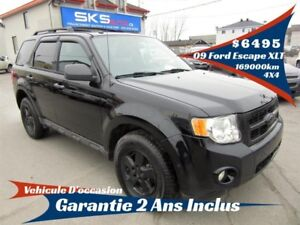 Ford Escape 4WD XLT (GARANTIE 2 ANS INCLUS) 2009
