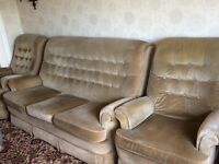 3 Piece Sofa/settee and 2 chairs Parker Knoll