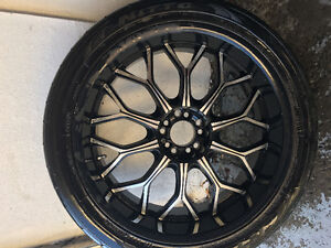 22 inch mags with low profile tires 265/40 R22