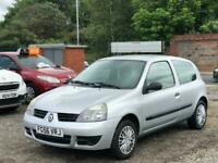 * 56 2007 RENAULT CLIO 1.2 CAMPUS 3 DOOR + IDEAL FIRST CAR + HPI CLEAR *