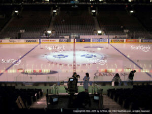 Leafs vs Penguins (Oct 18) - Platinum Tickets, Section 108 Row 7