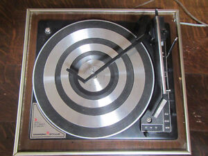 Vintage Sounddesign turntable/record player  Tested