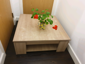 Coffee table / TV stand- beige colour
