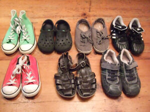 Boys Shoes - Sandals, Sneakers, Cleats, CROCS, Sizes 10-13