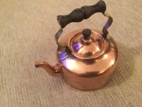 CARAVAN FOLDING COPPER KETTLE (RARE) CAMPER VW MOTORHOME BAILEY SWIFT CARLIGHT SAFARI ROMANY