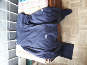 Navy blue xs scrubs for sale