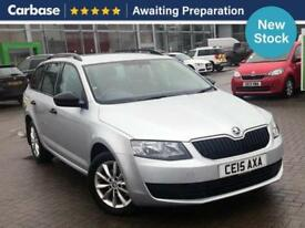 2015 SKODA OCTAVIA 1.6 TDI CR S 5dr Estate