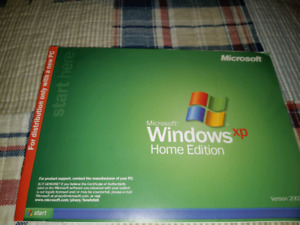 For sale windows xp software with key number.