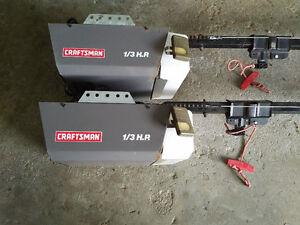 Craftsman 1/3 HP Garage Door Openers