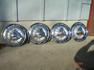 Nice set of 1962 Impala SS wheel covers
