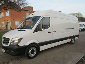 2015 15-REG Mercedes Benz Sprinter 313CDI LWB HIGH ROOF. 1 OWNER. NEW SHAPE. PX